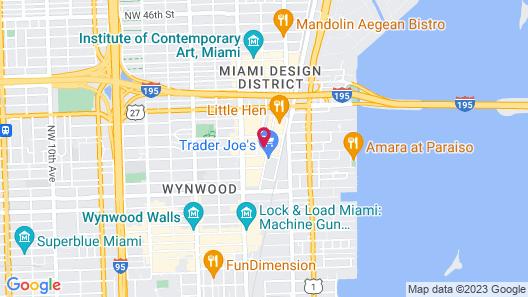 Spectacular Midtown Miami Map