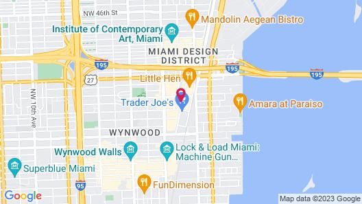 Wynwood Design District 30 Day Rentals Map