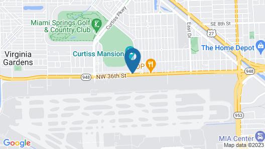 Clarion Inn & Suites Miami International Airport Map