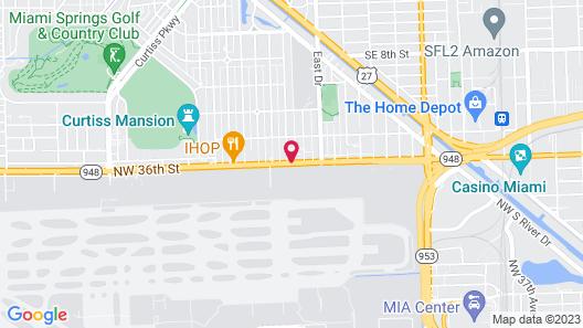 Days Inn by Wyndham Miami Airport North Map