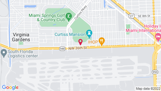 Best Western Plus Miami Airport North Hotel & Suites Map