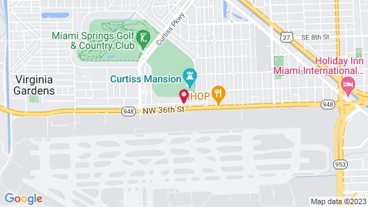 Sleep Inn Miami International Airport Map