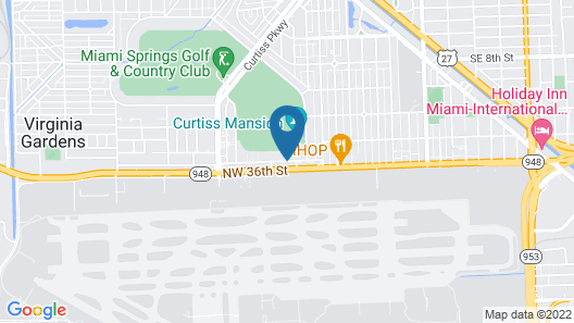 Sleep Inn Miami International Airport Map