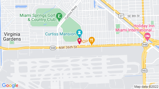 Extended Stay America - Miami - Airport - Miami Springs Map