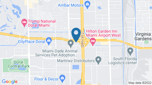 Wingate By Wyndham Miami Airport Map