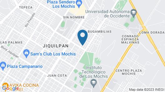 Tu hogar en los mochis Map