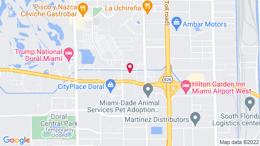 Fairfield Inn & Suites by Marriott Miami Airport West/Doral Map