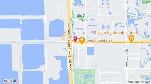 Hampton Inn & Suites by Hilton Miami-Doral/Dolphin Mall Map