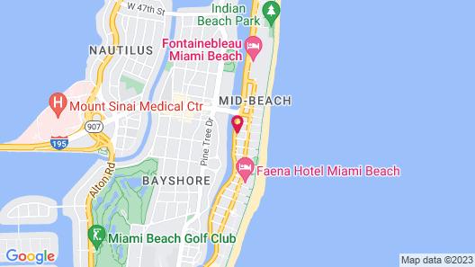 Venezia Hotel Map
