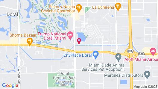 Marriott's Villas at Doral Map