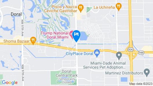Trump National Doral Miami Map