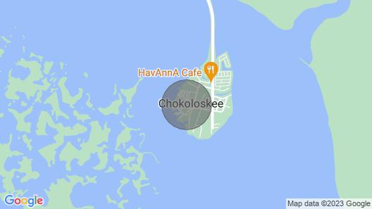Chokoloskee Cottage Short Walk to Water 1 Bdrm Map