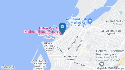 Hilton Ras Al Khaimah Beach Resort Map