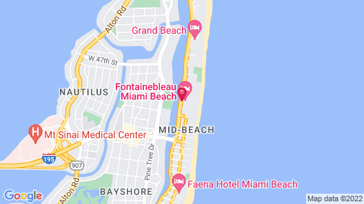 Fontainebleau Miami Beach Map