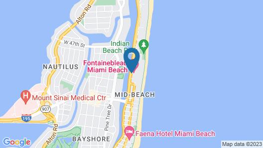 Fontainebleau Miami Beach Map