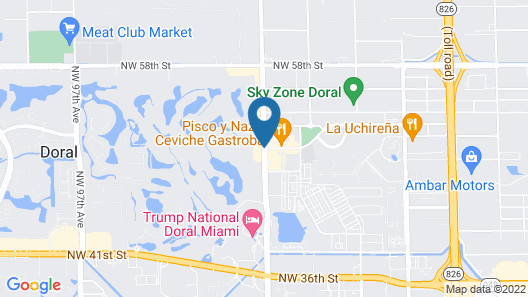 Provident Doral at the Blue Miami Map