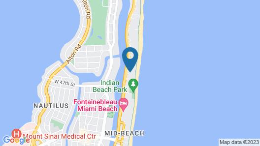Miami Beach Resort Map
