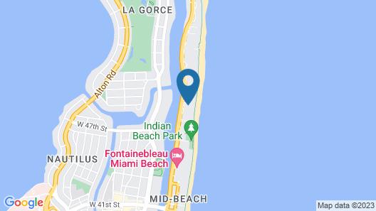 Grand Beach Hotel Map