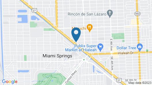 Hialeah Airport Motel Map