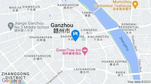 Qiansu Ban Jiang Xia Boutique Inn Map