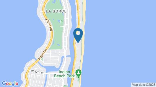 The Alexander Miami Beach Map