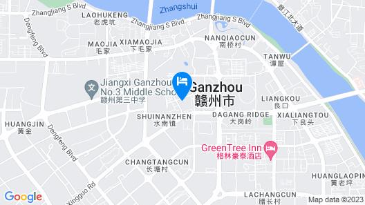 Grand Skylight International Hotel Ganzhou Map