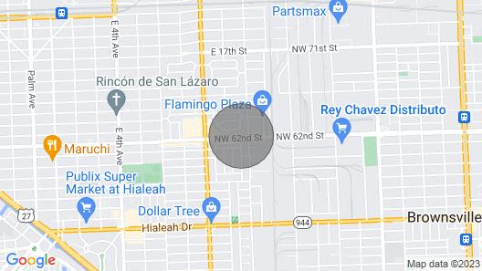 Miami. Entire Private Home - TOP Level Map