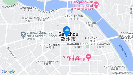 GreenTree Alliance Ganzhou Development Zone South Huajian Road Hotel Map