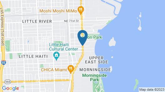 Shalimar Motel Map