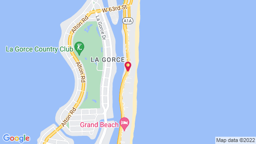 Collins Apartments by Design Suites  Map