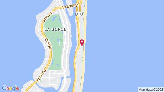 Soleil Apartments at Castle Beach Club Map
