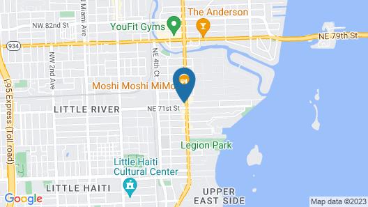 Treehouse Studio Hotel Map