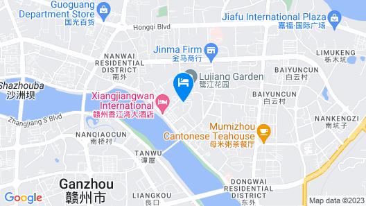 Jane Fashion Hotel - Ganzhou Map