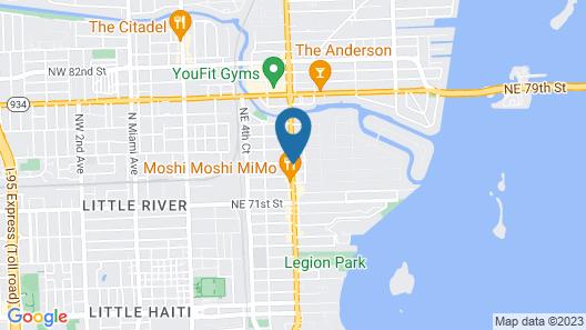 The Vagabond Hotel Map