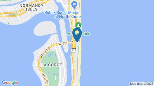Hilton Cabana Miami Beach Map