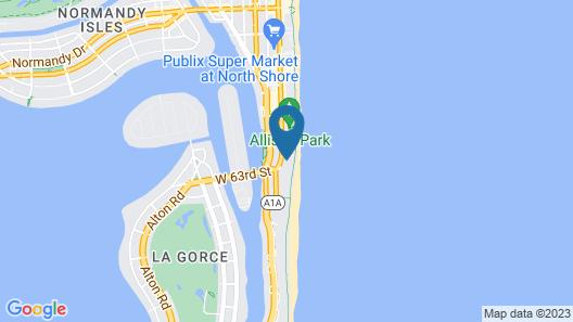 Casablanca Miami Beach Map