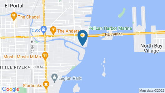 6 Bedroom Homes in Miami by TMG Map