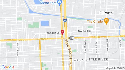 Holiday Inn Miami North – I-95, an IHG Hotel Map