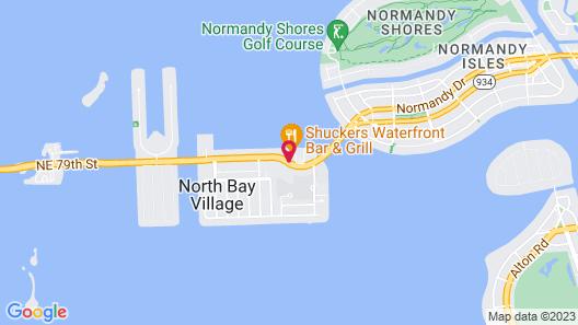 Best Western On the Bay Inn & Marina Map