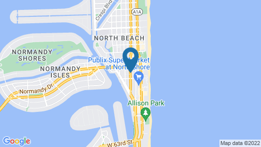 M Boutique Hotel Map