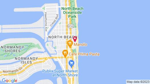 Ocean Surf Hotel Map