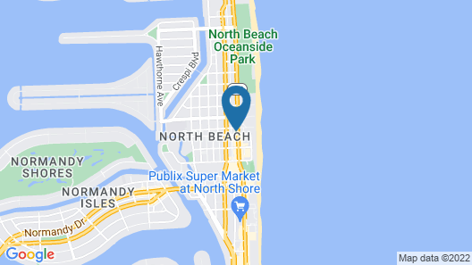 Seaside All Suites Hotel, a South Beach Group Hotel Map