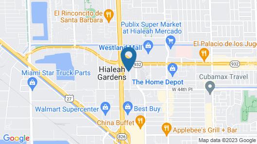Ramada by Wyndham Hialeah/miami Airport North Map