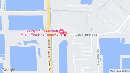 Residence Inn by Marriott Miami West / FL Turnpike Map