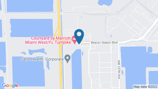 Residence Inn by Marriott Miami West / FL Turnpike Map