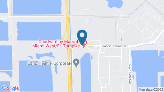 Courtyard by Marriott Miami West/ FL Turnpike Map
