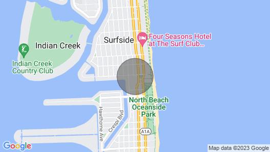 Studio Beach Bungalow Map