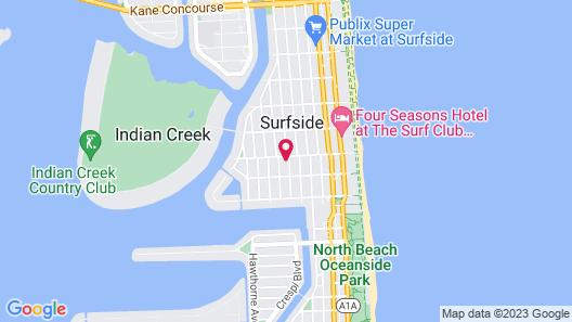 Miami Beach Villa Map