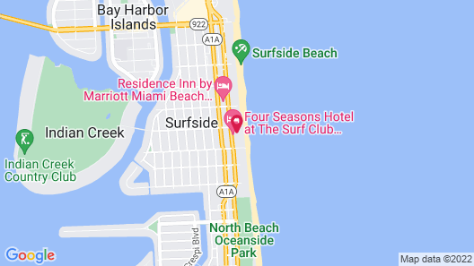 Four Seasons Hotel at The Surf Club Map