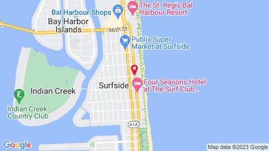 Residence Inn by Marriott Miami Beach Surfside Map